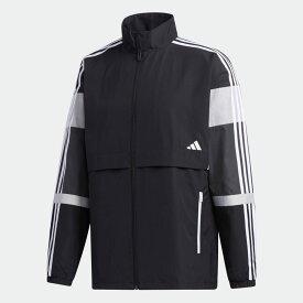 【公式】アディダス adidas UB カラーブロック ジャケット / UB Colorblock Jacket アスレティクス メンズ ウェア アウター ジャケット 黒 ブラック GL0402