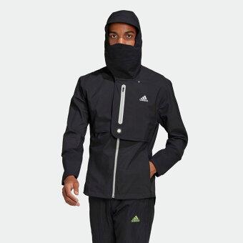 【公式】アディダス adidas ランニング WIND. RDY ジャケット / WIND. RDY Jacket メンズ ウェア アウター ジャケット 黒 ブラック GN5921 ランニングウェア