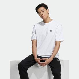 【公式】アディダス adidas フロント&バックプリント トレフォイル ボクシー 半袖Tシャツ オリジナルス レディース メンズ ウェア トップス Tシャツ 白 ホワイト GE0825 半袖