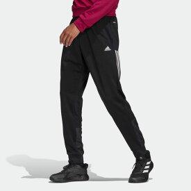 【公式】アディダス adidas AEROREADY ファブリック ミックスパンツ / AEROREADY Fabric Mix Pants アスレティクス メンズ ウェア ボトムス パンツ 黒 ブラック GK5774 p0122