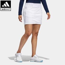 【公式】アディダス adidas ゴルフ ソリッド リバーシブルスコート レディース ウェア ボトムス スカート 白 ホワイト GV0243 p1023