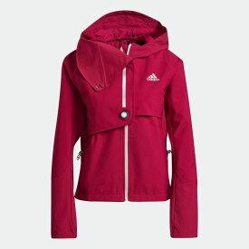 【公式】アディダス adidas ランニング WIND. RDY ジャケット / WIND. RDY Jacket レディース ウェア アウター ジャケット ピンク GN5919 ランニングウェア p0122