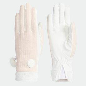 【公式】アディダス adidas ゴルフ ウィメンズ ウォームペアグローブ18 レディース アクセサリー 手袋/グローブ ピンク M72277 p1126