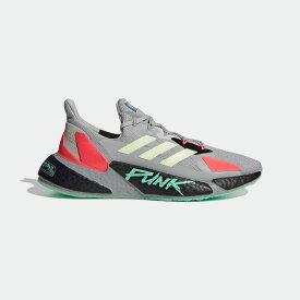 【公式】アディダス adidas ランニング X9000L4 サイバーパンク 2077 / X9000L4 Cyberpunk 2077 メンズ シューズ スポーツシューズ グレー FZ3092 ランニングシューズ スパイクレス p0122