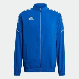 【公式】アディダス adidas サッカー CONDIVO21 プレゼンテーションジャケット メンズ ウェア アウター ジャケット ジャージ 青 ブルー GH7136 p0304