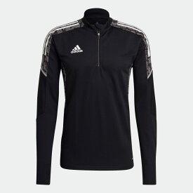 【公式】アディダス adidas サッカー CONDIVO21 トレーニングトップ メンズ ウェア トップス ジャージ 黒 ブラック GH7157 p0304