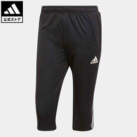 【公式】アディダス adidas 返品可 サッカー ティロ 21 3/4 パンツ / Tiro 21 3/4 Pants メンズ ウェア ボトムス パンツ 黒 ブラック GM7375