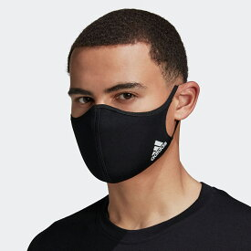 全品送料無料! 03/04 20:00〜03/11 09:59 【公式】アディダス adidas フェイスカバー 3枚組(M/L)/ FACE COVERS M/L 3-PACK adidas レディース メンズ アクセサリー その他アクセサリー 黒 ブラック H08837