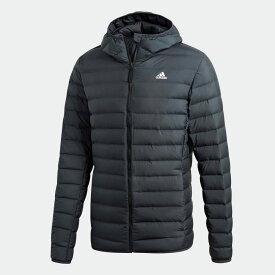 【公式】アディダス adidas アウトドア VARILITE ソフトダウン フード付き ジャケット / Varilite Soft Down Hooded Jacket メンズ ウェア アウター ダウン グレー CY8738 ダウンジャケット p0122