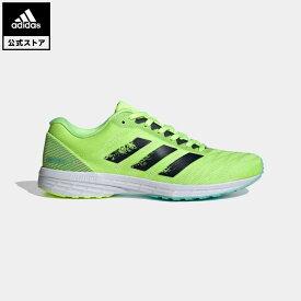 【公式】アディダス adidas 返品可 ランニング アディゼロ RC 3 / Adizero RC 3 レディース シューズ・靴 スポーツシューズ イエロー H69055 トレーニングシューズ ランニングシューズ