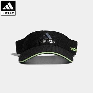 【公式】アディダス adidas ゴルフ メタルロゴバイザー 【ゴルフ】/ Metal Logo Visor メンズ アクセサリー 帽子 サンバイザー 黒 ブラック GL8825 サンバイザー