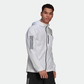 【公式】アディダス adidas ランニング オウン ザ ラン フード付き ウインドジャケット / Own the Run Hooded Wind Jacket メンズ ウェア アウター ジャケット GJ9948 ランニングウェア p0122