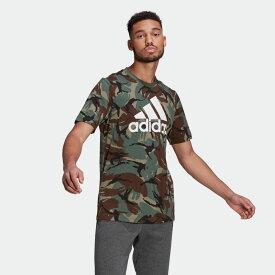 全品送料無料! 03/04 20:00〜03/11 09:59 【公式】アディダス adidas エッセンシャルズ カモフラージュ Tシャツ / Essentials Camouflage Tee メンズ ウェア トップス Tシャツ 緑 グリーン GK9808 半袖 p0304