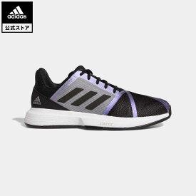 【公式】アディダス adidas 返品可 テニス コートジャム バウンス / CourtJam Bounce メンズ シューズ・靴 スポーツシューズ 黒 ブラック FX1493 テニスシューズ