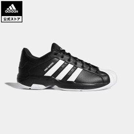 【公式】アディダス adidas 返品可 バスケットボール プロモデル 2G ロー / Pro Model 2G Low レディース メンズ シューズ・靴 スポーツシューズ 黒 ブラック FX4980 バッシュ