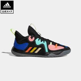 【公式】アディダス adidas 返品可 バスケットボール ハーデン ステップバック 2 / Harden Stepback 2 レディース メンズ シューズ・靴 スポーツシューズ 黒 ブラック FZ1069 バッシュ