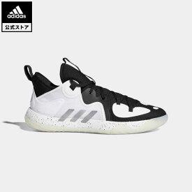 【公式】アディダス adidas 返品可 バスケットボール ハーデン ステップバック 2 / Harden Stepback 2 レディース メンズ シューズ・靴 スポーツシューズ 黒 ブラック FZ1384 バッシュ