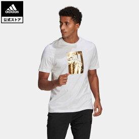 【公式】アディダス adidas M BX FL T メンズ ウェア トップス Tシャツ 白 ホワイト GL3030 半袖