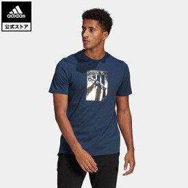 【公式】アディダス adidas M BX FL T メンズ ウェア トップス Tシャツ 青 ブルー GL3032 半袖