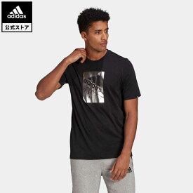 【公式】アディダス adidas M BX FL T メンズ ウェア トップス Tシャツ 黒 ブラック GL3033 半袖