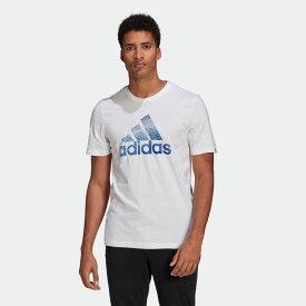 全品送料無料! 03/04 20:00〜03/11 09:59 【公式】アディダス adidas エクストリュ-ジョン モーション パフプリント ロゴ グラフィック 半袖Tシャツ / Extrusion Motion Puff-Print Logo Graphic Tee メンズ ウェア トップス Tシャツ 白 ホワイト GL2398 半袖 p0304
