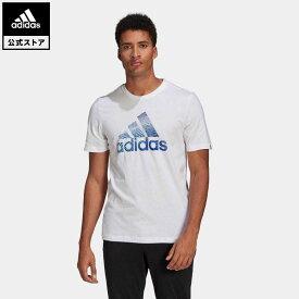 【公式】アディダス adidas エクストリュ-ジョン モーション パフプリント ロゴ グラフィック 半袖Tシャツ / Extrusion Motion Puff-Print Logo Graphic Tee メンズ ウェア トップス Tシャツ 白 ホワイト GL2398 半袖