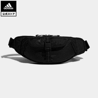 【公式】アディダス adidas ジム・トレーニング ウィメンズ ウエストバッグ レディース アクセサリー バッグ ウエストバッグ 黒 ブラック GL8622 ウエストポーチ ボディバッグ
