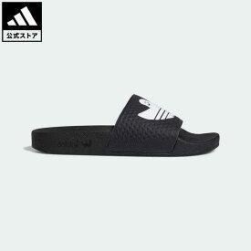 【公式】アディダス adidas 返品可 シュムーフォイル サンダル オリジナルス レディース メンズ シューズ サンダル 黒 ブラック FY6849