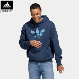 【公式】アディダス adidas 返品可 スケートボーディング ヘンリー・ジョーンズ デッキフォイル パーカー(ジェンダーニュートラル) オリジナルス レディース メンズ ウェア トップス スウェット(トレーナー) 青 ブルー GL9973 eoss21ss