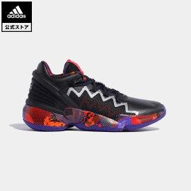 【公式】アディダス adidas 返品可 バスケットボール D.O.N. Issue #2 メンズ シューズ・靴 スポーツシューズ 黒 ブラック G55791 バッシュ