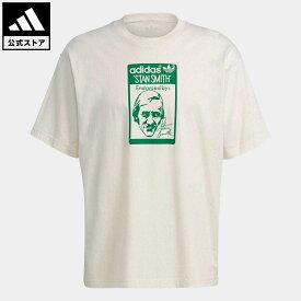 【公式】アディダス adidas 返品可 スタンスミス 半袖Tシャツ(ジェンダーニュートラル) オリジナルス レディース メンズ ウェア・服 トップス Tシャツ GQ8873 半袖
