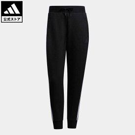 【公式】アディダス adidas 返品可 フューチャーアイコン パンツ / Future Icon Pants アスレティクス レディース ウェア・服 ボトムス パンツ 黒 ブラック GT6826