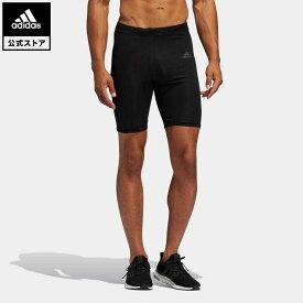 【公式】アディダス adidas 返品可 ランニング オウン ザ ラン ショートタイツ / Own The Run Short Tights メンズ ウェア ボトムス タイツ ED9287 newnormal walking_jogging スポーツウェア ランニングウェア レギンス coupon対象0429
