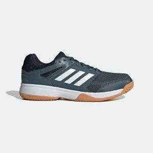 【公式】アディダス adidas バレーボール スピードコート [Speedcourt Shoes] メンズ シューズ スポーツシューズ 青 ブルー FU8324 スパイクレス p0122