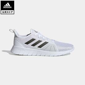【公式】アディダス adidas ランニング ASWEERUN 2.0 メンズ シューズ スポーツシューズ 白 ホワイト FW1677 walking_jogging whitesneaker ランニングシューズ