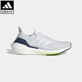 【公式】アディダス adidas ランニング ウルトラブースト 21 / Ultraboost 21 メンズ シューズ スポーツシューズ 白 ホワイト FY0371 walking_jogging ランニングシューズ