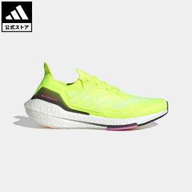 【公式】アディダス adidas ランニング ウルトラブースト 21 / Ultraboost 21 メンズ シューズ スポーツシューズ イエロー FY0373 walking_jogging ランニングシューズ