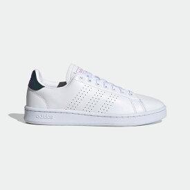 【公式】アディダス adidas テニス アドバンテージ / Advantage レディース シューズ スポーツシューズ 白 ホワイト FY8955 テニスシューズ スパイクレス