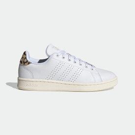 【公式】アディダス adidas テニス ADVANCOURT LEA W レディース シューズ スポーツシューズ 白 ホワイト FY9101 テニスシューズ スパイクレス