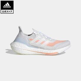 【公式】アディダス adidas ランニング ウルトラブースト 21 / Ultraboost 21 レディース シューズ スポーツシューズ 白 ホワイト FY0396 walking_jogging whitesneaker ランニングシューズ