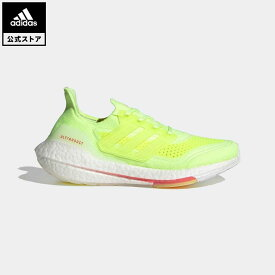 【公式】アディダス adidas ランニング ウルトラブースト 21 / Ultraboost 21 レディース シューズ スポーツシューズ イエロー FY0398 walking_jogging ランニングシューズ