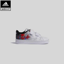 【公式】アディダス adidas テニス アドバンコート / Advancourt キッズ シューズ スポーツシューズ 白 ホワイト FY9253 テニスシューズ whitesneaker