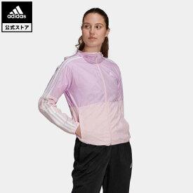 【公式】アディダス adidas カラーブロック ジャケット / Colorblock Jacket レディース ウェア アウター ウインドブレーカー ピンク GQ0607 coupon対象0429