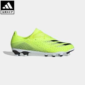 【公式】アディダス adidas 返品可 サッカー エックス ゴースト.2 HG/AG / 土・人工芝用 / X Ghosted.2 HG/AG Boots メンズ シューズ・靴 スパイク イエロー FW6979 サッカースパイク