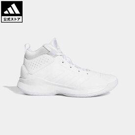 【公式】アディダス adidas 返品可 バスケットボール Cross Em Up 5 キッズ シューズ・靴 スポーツシューズ 白 ホワイト FW8536 バッシュ