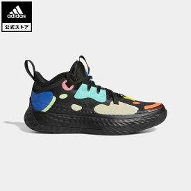 【公式】アディダス adidas 返品可 バスケットボール ハーデン Vol. 5 / Harden Vol.5 キッズ シューズ スポーツシューズ 黒 ブラック FX8666 バッシュ