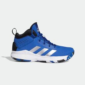 全品送料無料! 03/04 20:00〜03/11 09:59 【公式】アディダス adidas バスケットボール Cross Em Up 5 (Wide) キッズ シューズ スポーツシューズ 青 ブルー FZ1472 バッシュ スパイクレス p0304
