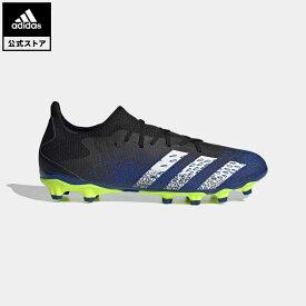 【公式】アディダス adidas 返品可 サッカー プレデター フリーク.3 ロー HG/AG / 土・人工芝用 / Predator Freak.3 Low HG/AG メンズ シューズ・靴 スパイク 黒 ブラック FZ3705 サッカースパイク