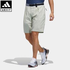 【公式】アディダス adidas 返品可 ゴルフ PRIMEGREEN ショートパンツ / Shorts メンズ ウェア・服 ボトムス ハーフパンツ 緑 グリーン GM0798 notp