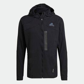 【公式】アディダス adidas ランニング マラソン トランスルーセント ジャケット / Marathon Translucent Jacket メンズ ウェア アウター ジャケット 黒 ブラック GM4949 ランニングウェア